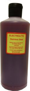 Etch-O-Matic Electrolyte Solutions (16oz)