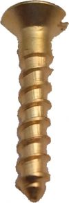Brass Slotted Screws