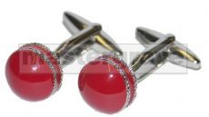 *NEW* Cricket Ball Novelty Cufflinks (NCUFF14)