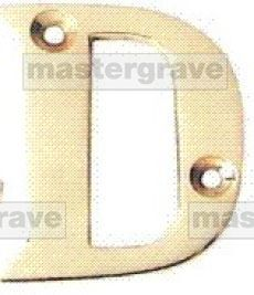CB11L-D BRASS LETTERS 50MM